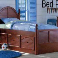 Captain's Bed PLANS – Elegant Twin Design Set
