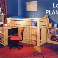 Child's Compact Loft – PLANS