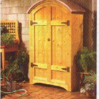 Garden or Deck Cabinet PLANS