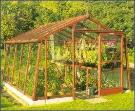 """Barn Style Cedar Greenhouse (10 by 14) PLANS"","