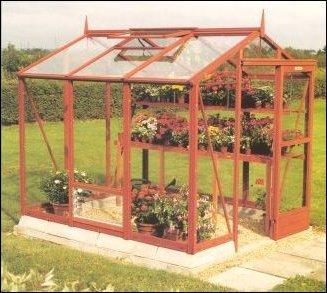 """Mini Cedar Greenhouse (6 by 8) PLANS"","