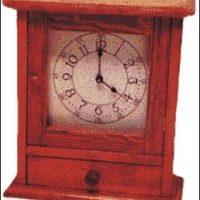 Shaker Mantle Clock PLANS