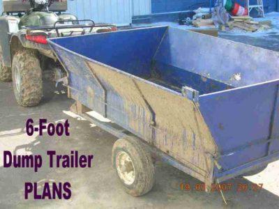 Six Foot Dump Trailer PLANS