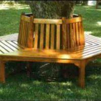 Wrap around tree bench  – PLANS