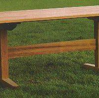 Garden Trestle Table  PLANS