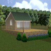"""Vermont Saltbox Cabin PLANS"","