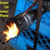 Waste Oil Blower Heater – PLANS