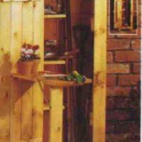 """Garden Hutch PLANS – Simple"","