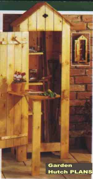 """Garden Hutch PLANS - Simple"","