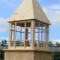 Steeple Cupola Ornamental High Profile 36″ PLANS